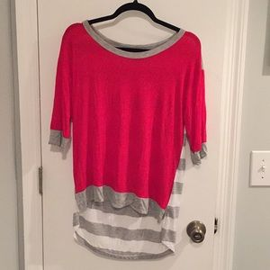 Bobeau 3/4 sleeve shirt